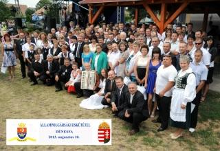 Magyar Állampolgársági Eskütétel és Falunap, 2013