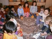 Kellemes húsvéti ünnepeket kívánnak a dénesfai ovisok!