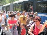 A dénesfaiak néhány hete jártak Erdélyben. Most a harasztkeréki fiatalok vendégeskednek a Dél-Rábaközben.