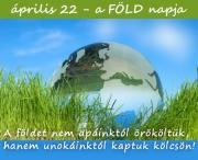 Április 22.  Föld Napja